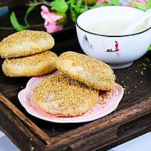 椒盐油酥肉火烧(原创制作)