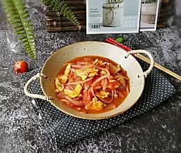 #一人一道拿手菜#番茄鹅蛋紫洋葱的做法