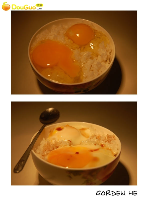 微波蛋拌饭——一个人也要记得好好吃饭的做法
