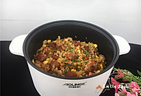 腊肠土豆焖饭的做法
