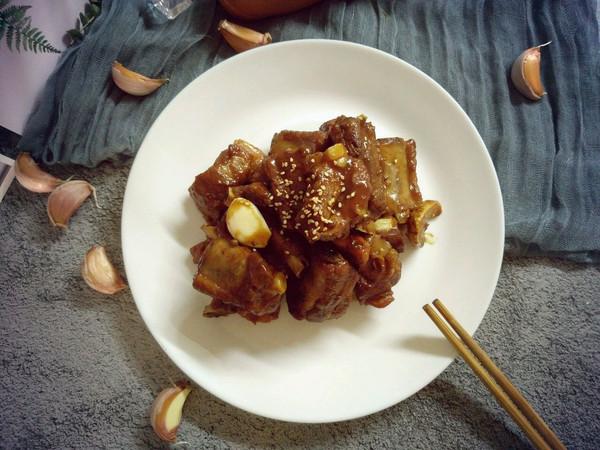 蒜香红烧排骨(无大料版)的做法