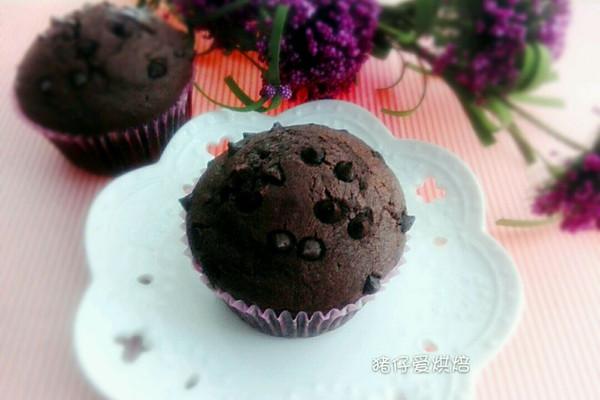 巧克力麦芬蛋糕(超柔软)的做法