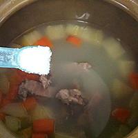 猪尾骨蚝干木瓜汤的做法图解8