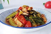 菇菇茄酱豆腐菜的做法