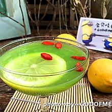 夏季美腿物语:自制瘦腿的柠檬苦瓜汁