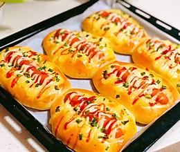 比肩面包店的:热狗面包的做法