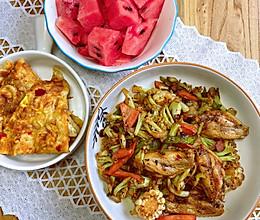 #不容错过的鲜美滋味#干锅花菜的做法