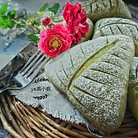 抹茶奶酪软欧面包#樱花味道#的做法图解13