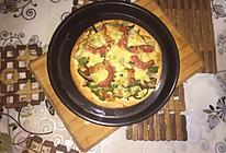 田园披萨附水果披萨的做法