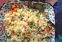 蛋花炒饭的做法