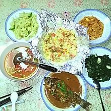 鲜虾焗饭(高压锅版)
