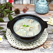 黄豆薏米猪脚汤#中粮我买,我是大美人#