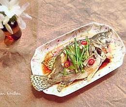 清蒸桂鱼—美味的桂鱼花的做法
