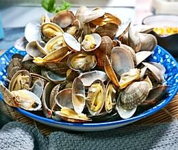 清蒸花蛤的做法