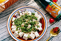 #春日时令,美味尝鲜#鲜贝露春日尝鲜之香椿拌豆腐的做法