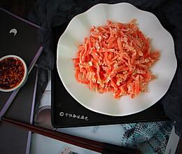 粉蒸胡萝卜丝的做法