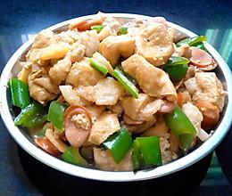 小炒豆腐泡的做法