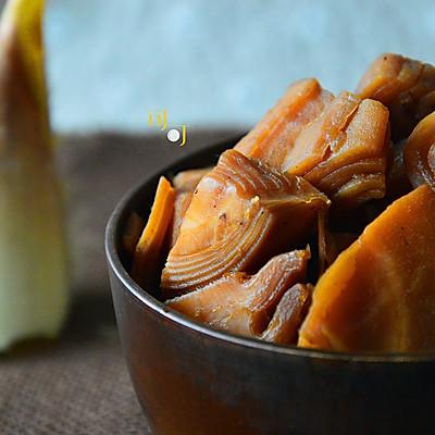 酱油烤毛笋:四明山的笋