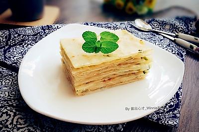 【素版葱油簿饼】德国Miji爱心菜