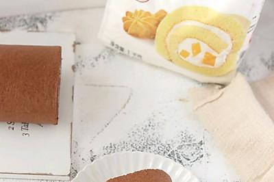 巧克力奥利奥蛋糕卷
