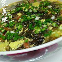 紫菜蛋花汤【低脂减肥】