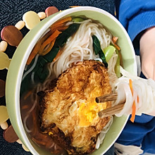 简简单单的一碗青菜面