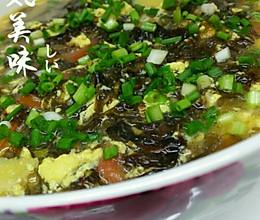 紫菜蛋花汤【低脂减肥】的做法
