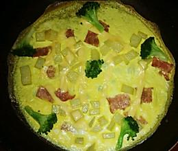 宝宝餐之营养满满的欧式料理-土豆烘蛋【2岁以上,2人份】的做法