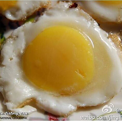 一个鸡蛋煎出七个小鸡蛋