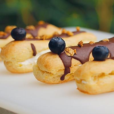 蓝莓奶油闪电泡芙