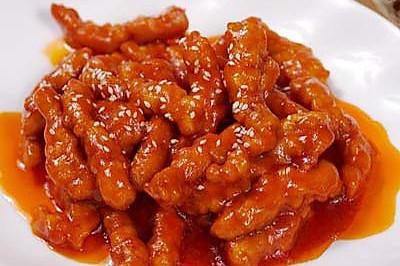 糖醋里脊——茄汁版