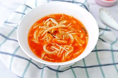 18M+茄汁菌菇牛肉面:宝宝辅食营养食谱菜谱