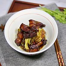 红烧肉炖白菜#百菜不如白菜#
