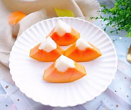 木瓜奶冻的做法