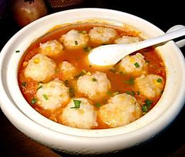 #中秋团圆食味#低脂鲜嫩爽滑Q弹~番茄鱼丸汤的做法
