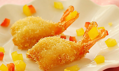 芙蓉虾的做法