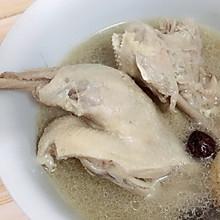 天麻红枣炖鸭