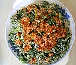 蒸茼蒿菜的做法