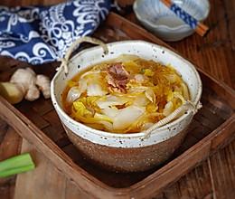 白菜猪肉炖粉条的做法