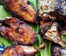 五香熏鲅鱼的做法