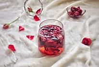 美丽人生之美颜换肤佳品~玫瑰醋饮的做法