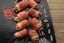 【迎春卷(金针菇培根卷)】——凹个造型变年菜的做法