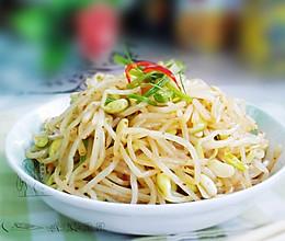 辣拌黄豆芽的做法