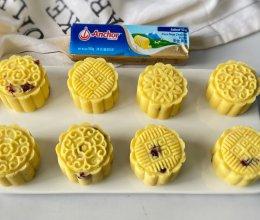 """#""""佳""""节好滋味#蔓越莓蜂蜜绿豆糕的做法"""