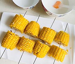 甜烤玉米下午茶的做法