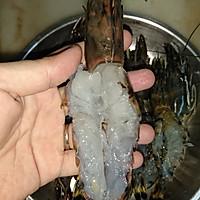 沙拉芥末酱焗大虾#丘比沙拉汁#的做法图解3