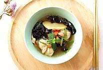 黑木耳枸杞鸡汤#餐桌上的春日限定#的做法
