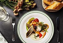 【鹦鹉厨房】香煎海鲈鱼配白酒汁的做法