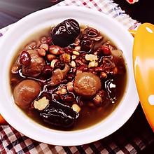 红枣薏米桂圆银耳汤#松下饭煲年味#