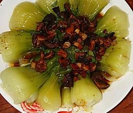 香菇小白菜的做法